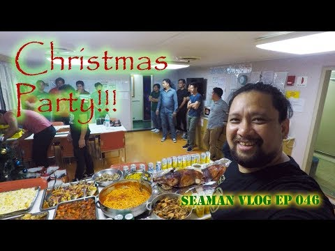 Christmas Party Onboard a Ship | Seaman VLOG 046
