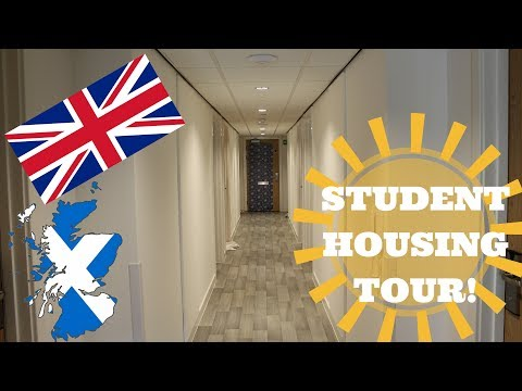 UK Student Dorm Tour!: University Life In Edinburgh!