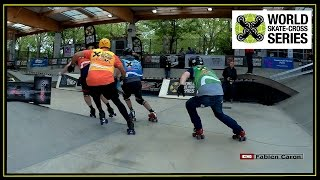 "Gambar cover Rollerblade ""Freeskate""  World Skate Cross Series Paris (Inline Skating,quad)"