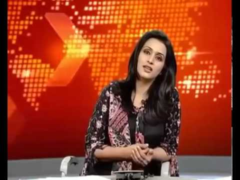Pakistani News Anchor Biggest Mistake During LIVE, Using Abu