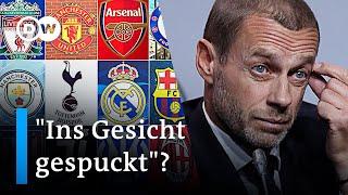 Superliga macht UEFA Champions League Konkurrenz | DW Nachrichten