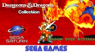 Dungeons & Dragons Collection - Shadow over Mystara (Quick Gameplay) Sega Saturn