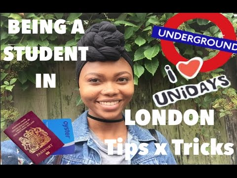 BEING A STUDENT IN LONDON (TIPS x TRICKS)