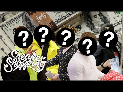 Sneaker Shopping's Top Five Spending Sprees