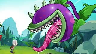 Plants Vs Zombies Online: New Chomper In The Bush - Endless Wave with New Plants