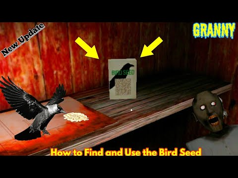How To Find And Use The Bird Seed ( Granny New Update 1.7.0 )