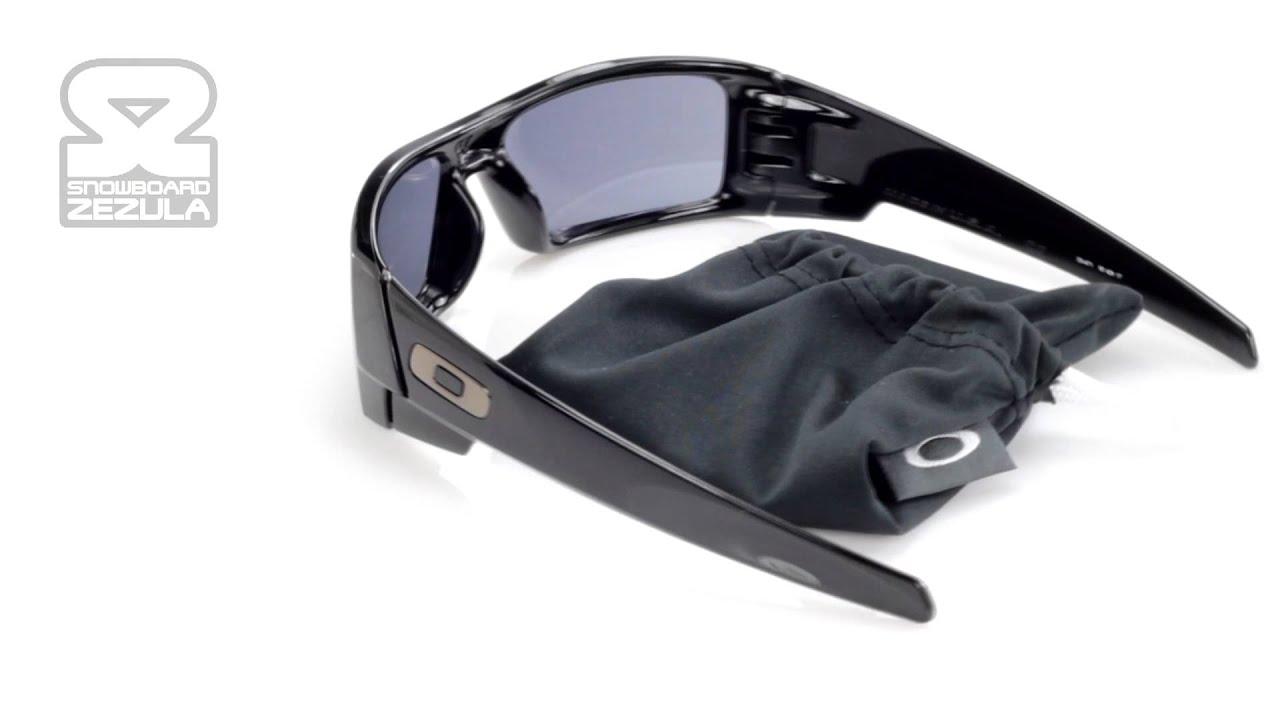541fc26c907 Brýle Oakley Gascan polished black (GREY LENS) 2012 - YouTube