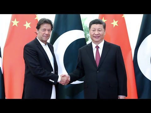 President Xi meets with Pakistani Prime Minister Imran Khan in Beijing