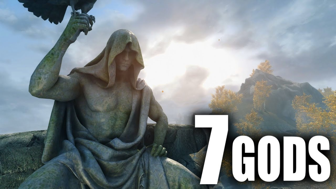 Skyrim: 7 GODS you DON'T hear about!