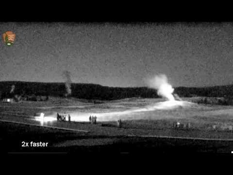 I Caught a METEOR On Live Cam! 10:40 PM MT@Yellowstone!
