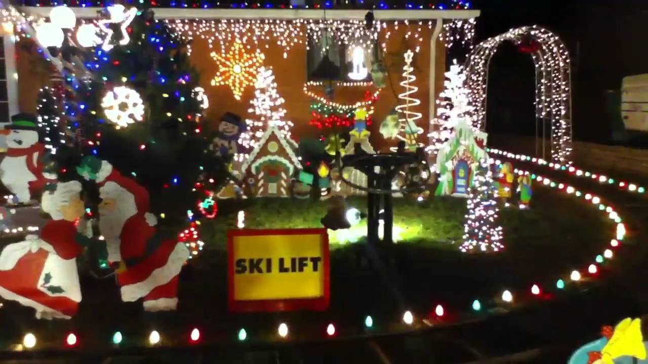 christmas front yard