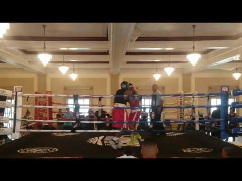 Masai Rasheed vs. Sergio Lopez round 2 Jun 24 2017