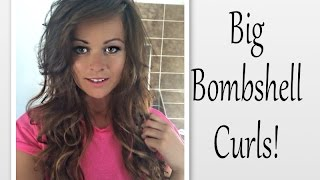 HOW TO: Easy Big Curly Bombshell Hair (Michelle Keegan Inspired) Thumbnail