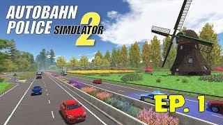 Autobahn Police Simulator 2 | GAMEPLAY ESPAÑOL | PRIMEROS MINUTOS