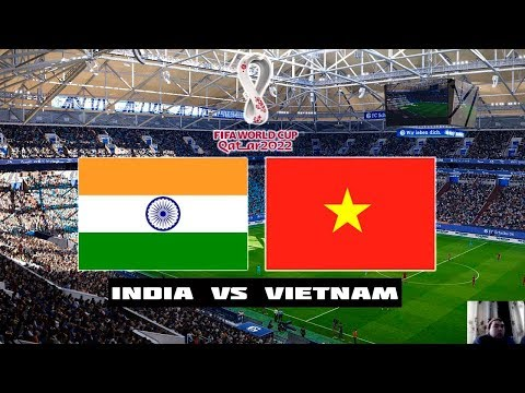 PES 2020 | India Vs Vietnam | FIFA World Cup 2022 Qatar | Full Match | All Goals HD | Gameplay PC