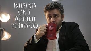 Presidente do Botafogo fala sobre  VJR e a proibição do Engenhão