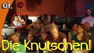Knutschen in der Comedy Show!