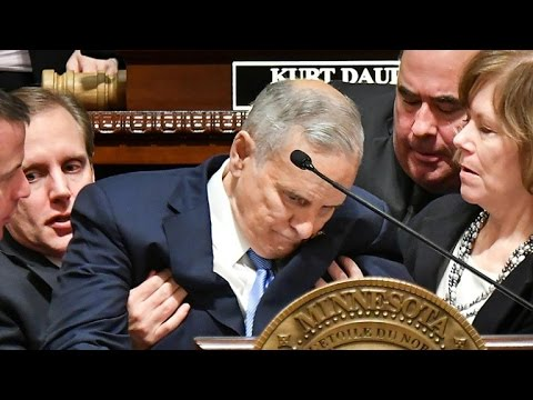 Minnesota governor collapses