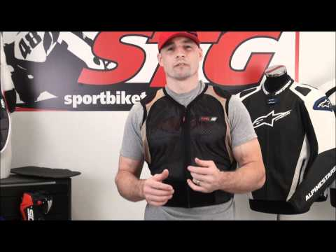 Knox Fastback Back Protector Video Review from SportbikeTrackGear.com