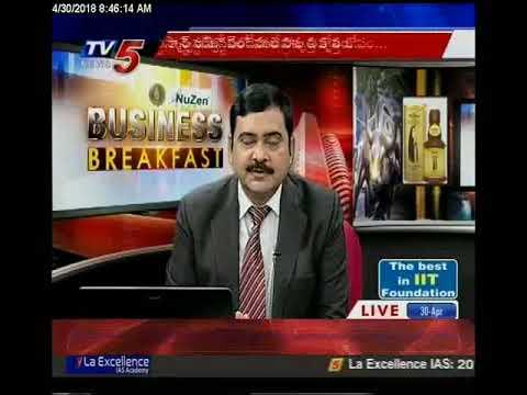 30th April 2018 TV5 News Business Breakfast