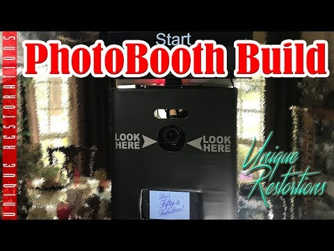 How to make an awesome DSLR photobooth! diy on a budget  unique restorations