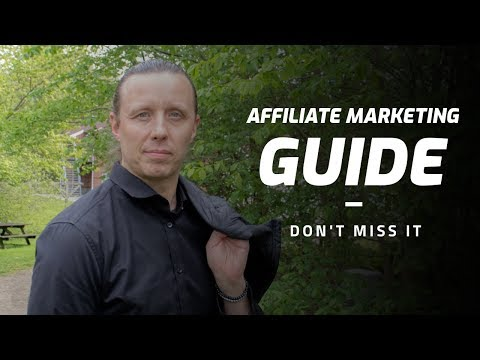 Affiliate Marketing Guide – by Anders Tolsgaard