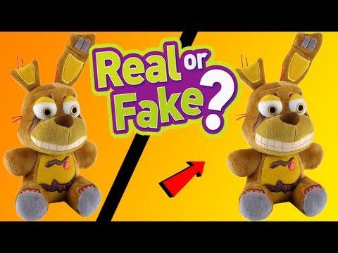 FNAF Bootlegs vs Funko Originals!!