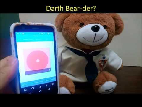 Amazon.com video review of Music Dolly Teddy Bear Bluetooth ASIN B01C41DMSO