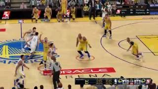 NBA 2K16 Game-play prior to NBA 2K17 Release - Greatest Comeback down 9 points in 3:20 @ 4th Qtr.