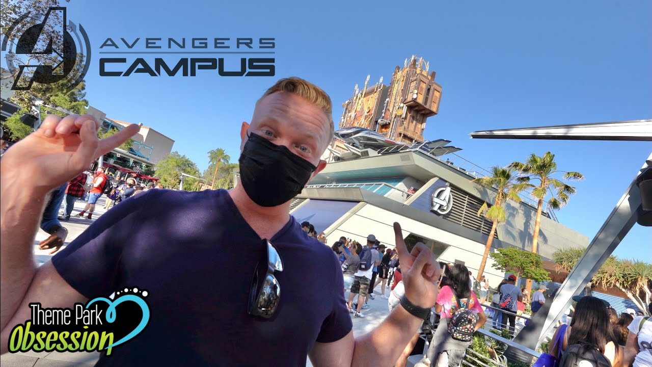 Avengers Campus Has Finally Opened! My Full Grand Opening Day Experience!
