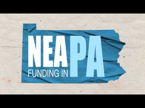 National Endowment for the Arts funding in  Pennsylvania