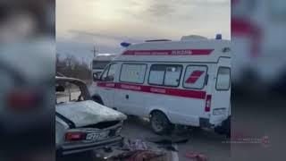 Новые кадры с места страшной катастрофы в Волгоградской области, унесшей четыре жизни