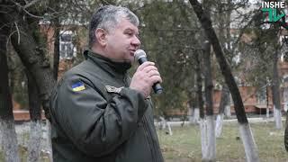 В Николаевском военном госпитале открыли старый новый фонтан
