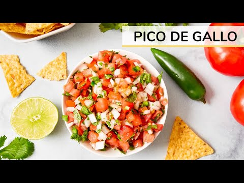 Clean & Delicious Pico De Gallo Salsa - Healthy Recipes