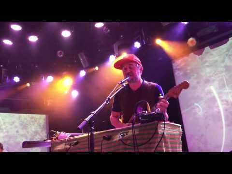 """Grandaddy, """"The Boat is in the Barn"""" live@Le Poisson Rogue, NYC 2-28-17"""