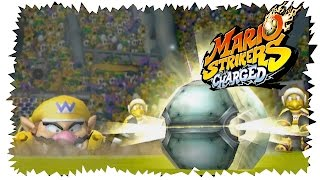 Mario Strikers Charged (Wii U) Wario Gameplay Let