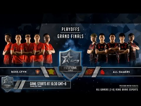 Grand Final BOSS.CFVN vs AG Game1 Port Crossfire Stars Invitational Manila Day 2