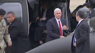 VP Pence warns North Korea: U.S.