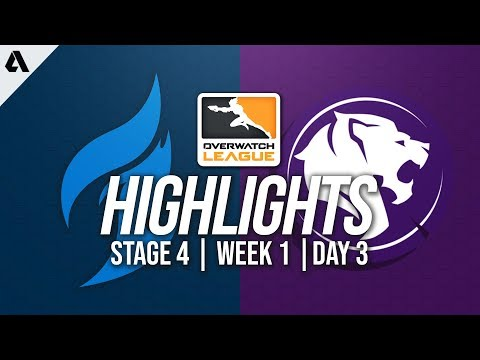 Dallas Fuel vs Los Angeles Gladiators | Overwatch League Highlights OWL Stage 4 Week 1 Day 3