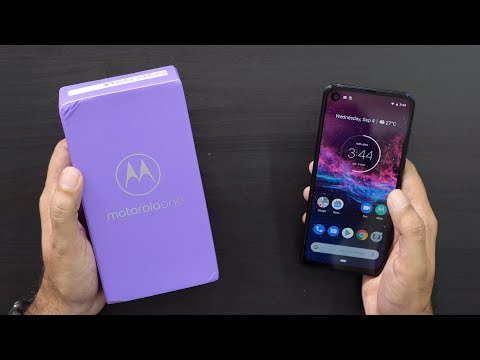 Motorola One Action (Android One) Smartphone Unboxing & Overview