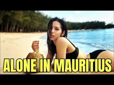 YOUNG GIRL ALONE In MAURITIUS
