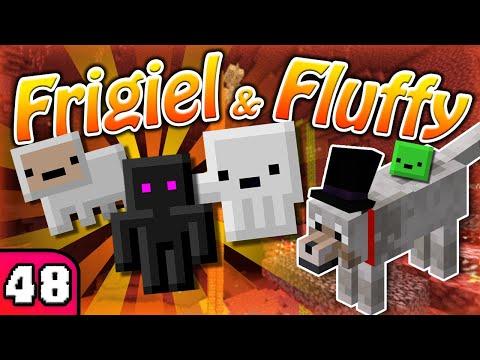 FRIGIEL & FLUFFY : Les pets du Nether | Minecraft - S7 Ep.48