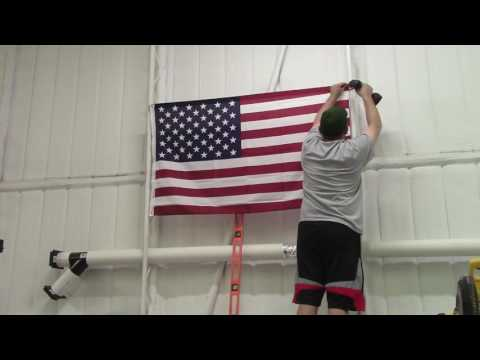 American Flag, MarineCorps Flag, Lets See Your Shop Flags