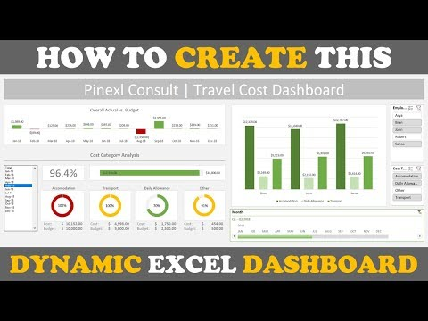 New Video: How to Create a Dashboard in Excel
