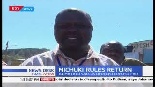 Migori Matatu owners association demanding 500,000 new jobs as promised by government