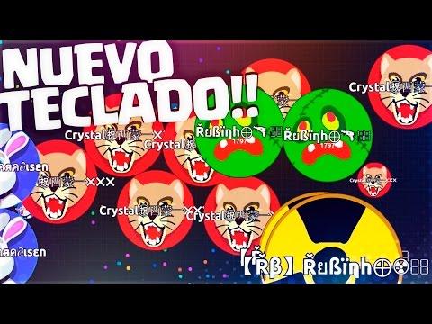 Nuevo TECLADO!! | Corsair K70 RGB Rapidfire | Agar.io | Rubinho vlc