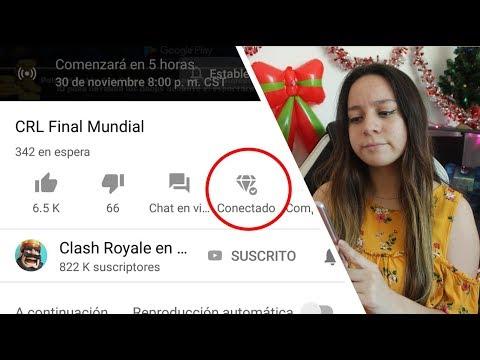 ¿COMO CONECTAR TU SUPERCELL ID AL DIRECTO DE YOUTUBE? FINALES CRL🏆 | CLASH ROYALE - Mafer Tejeda 10