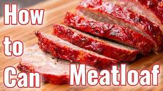 Recipe Canning Meatloaf