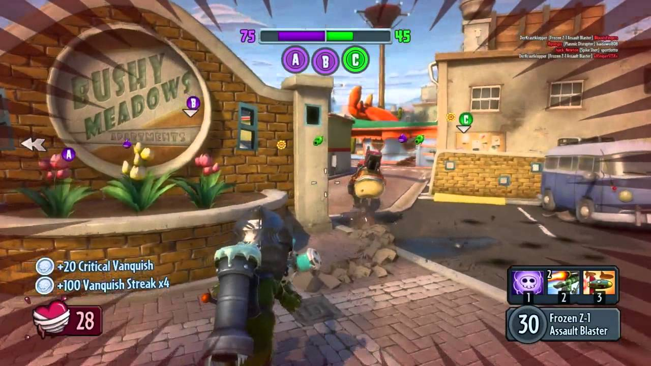 Plants vs Zombies Garden Warfare PC English   Suburbination #2 ...