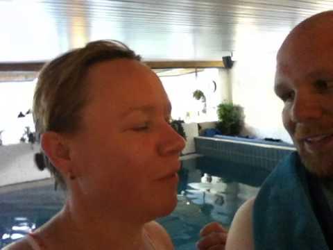 Projekt Unter 100: Micha Klotzbier hat Krämpfe beim Aqua Jogging